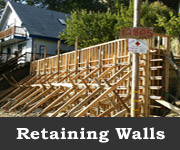 Retaining Walls, Coulter Construction, P.O. Box 1064 Lower Lake CA, (707) 995-2126 or (707) 350-1980